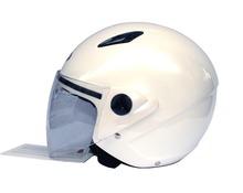 Casco jet DF601 new  bianco perla