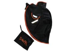 Universal leg cover with fur-orange edge DIEFFE