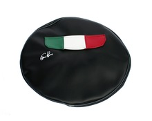 Wheel cover with Italian Flag pocket (8'' or 10'')