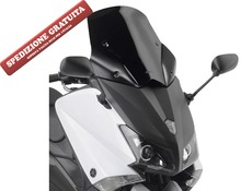 Yamaha T-max 530 2012-2013 black sport summer windshiedl