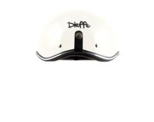 helmet bowl metal white
