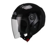 Helmet jet DF13 metal black