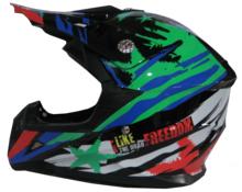 Casco motocross bambino DF211
