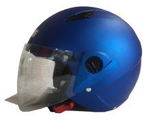 Casco jet DF600 blu