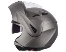 Casco modulare DF901 doppia visiera Flip-up  titanio