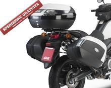 Portavaligie laterale Suzuki DL650 V-Storm 2011-2013 per valigie V35 Monokey side
