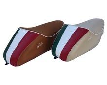 Vespa 50 single seat with back Italian Flag
