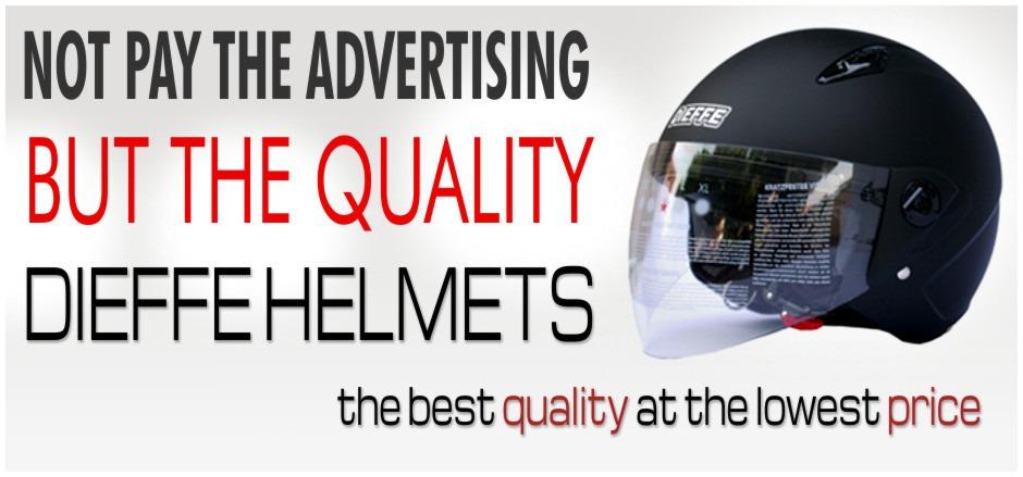 Open Face Helmet DF600 matt black