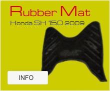 Honda Sh 150 2009 rubber mat
