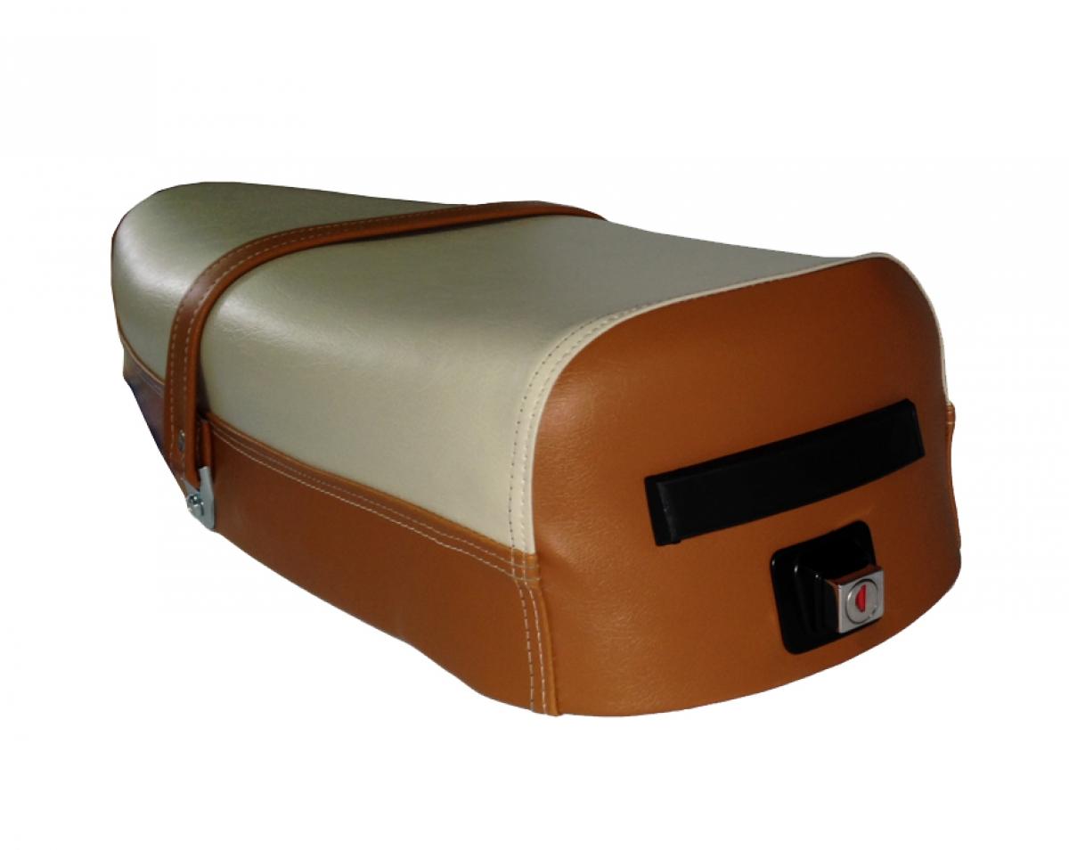 sella vespa 125 150 200 px bicolore. Black Bedroom Furniture Sets. Home Design Ideas